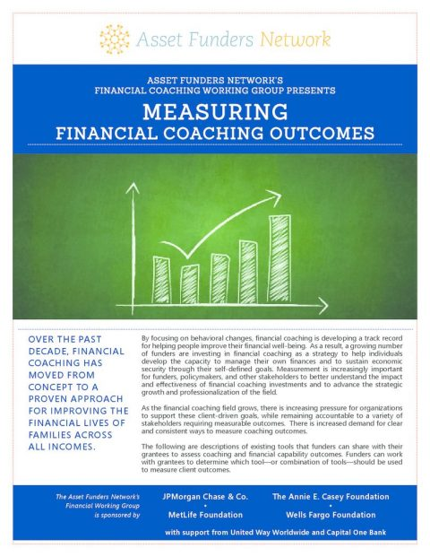 thumbnail of AFN Measuring Financial Coaching Outcomes