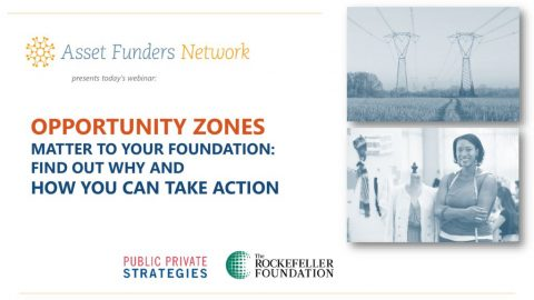 thumbnail of AFN Webinar on Opportunity Zones 2019