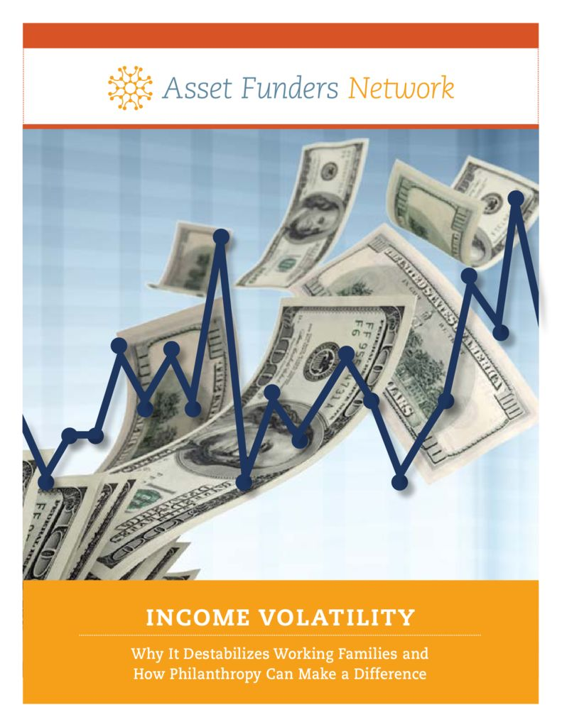 thumbnail of AFN 2017 Income Volatility Brief
