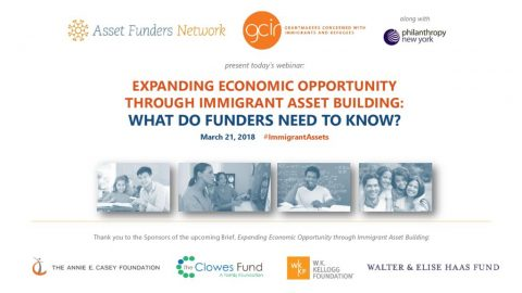 thumbnail of Expanding Economic Opportunity through Immigrant Asset Building Webinar