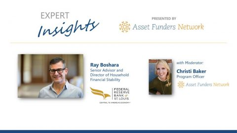 thumbnail of Expert Insights webinar with Ray Boshara August 2019