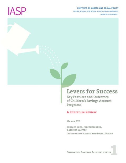thumbnail of Levers For Success CSA