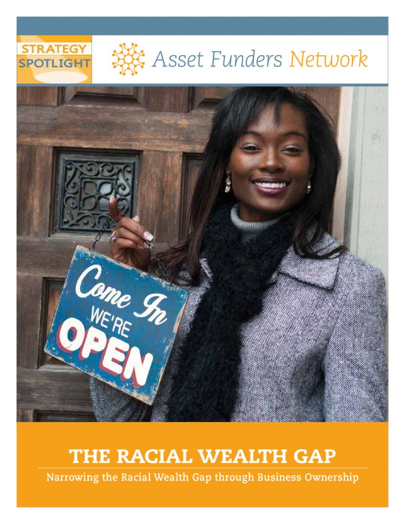 thumbnail of Narrowing_Racial_Wealth_Gap_brief_0615
