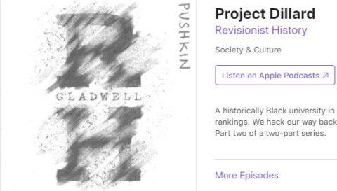 Project Dillard Podcast