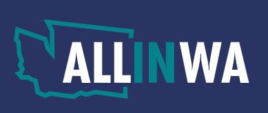 ALL in WA logo