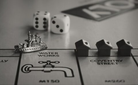 Picture of monopoly capital by Suzy Hazelwood